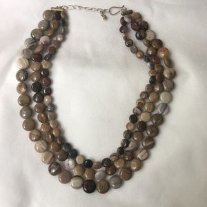 Jewelry - Jay King Sterling Silver Gem Necklace